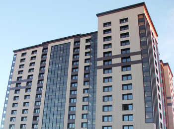 Внешнее оформление фасадов ЖК Пифагор